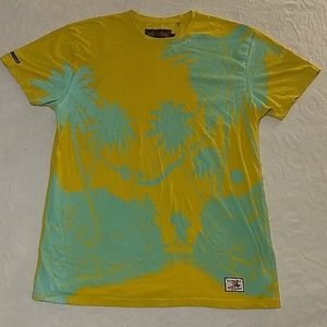 Men's AKOO BRAND Graphic Tropical T-Shir size 2XL